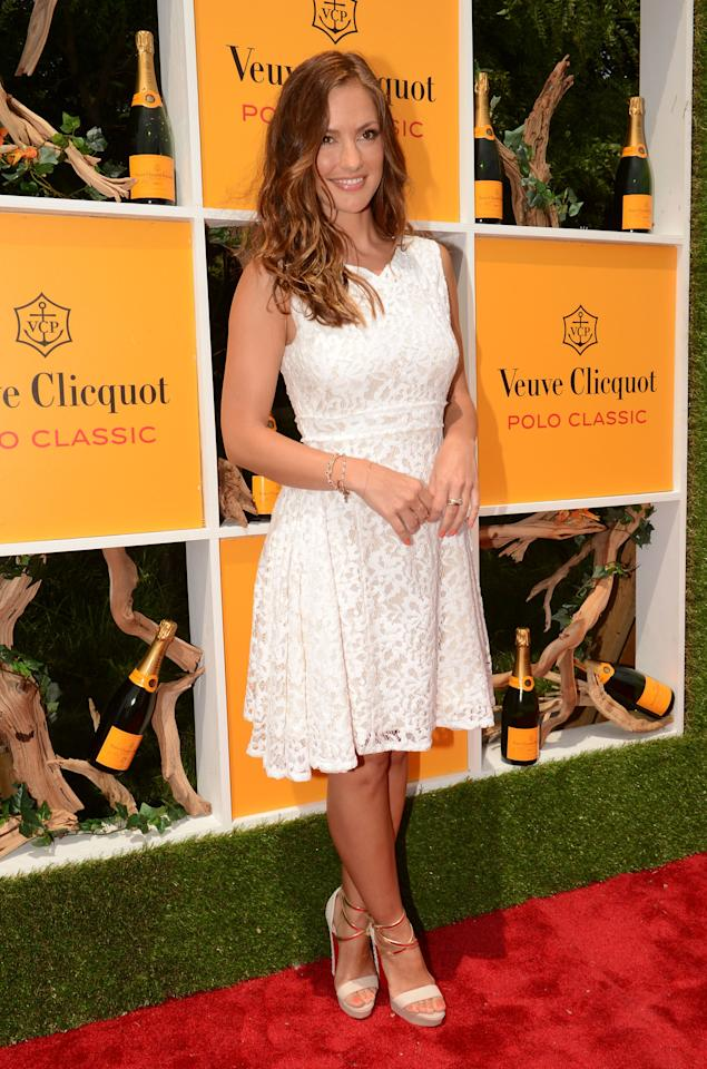 JERSEY CITY, NJ - JUNE 02:  Actress Minka Kelly attends the fifth annual Veuve Clicquot Polo Classic on June 2, 2012 in Jersey City.  (Photo by Andrew H. Walker/Getty Images for Veuve Clicquot Polo Classic)