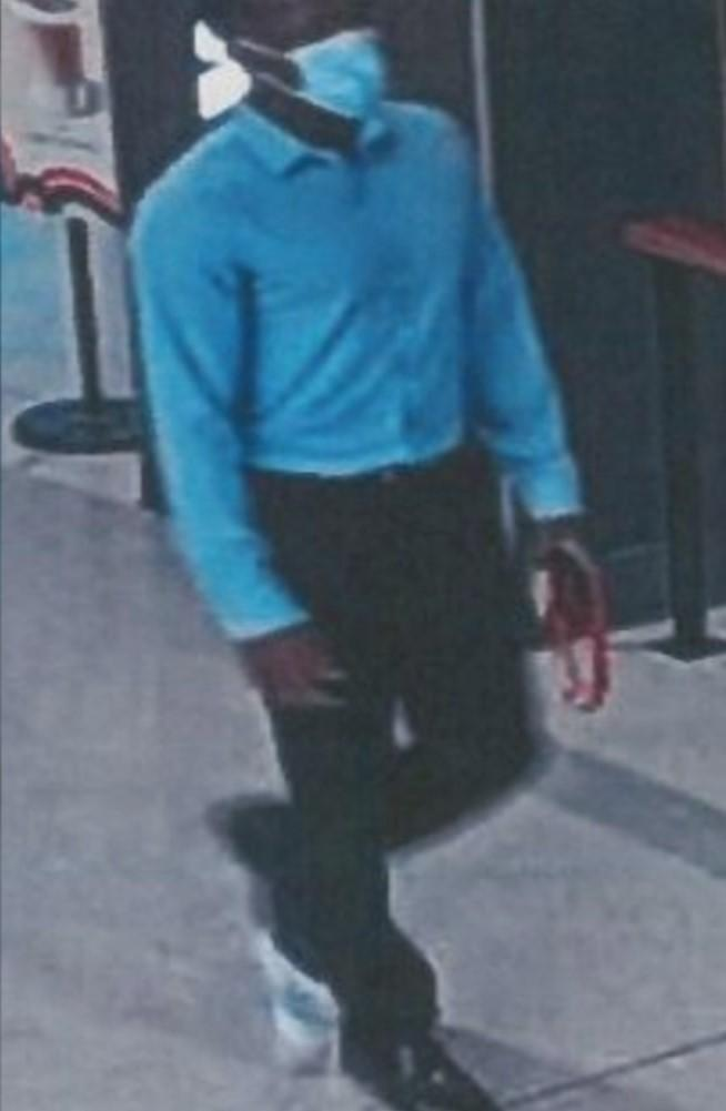 Jelani was seen on security video at ISU's student center at 7:20 a.m. on August 24, 2021. (Bloomington Police Department)
