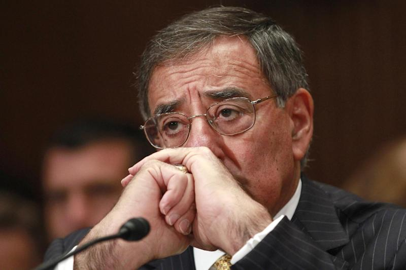 Defense Secretary Leon Panetta listens to opening remarks prior to testifying on Capitol Hill in Washington, Wednesday, June 13, 2012, before the Senate Defense subcommittee hearing on the the Defense Department's fiscal 2013 budget. (AP Photo/Jacquelyn Martin)