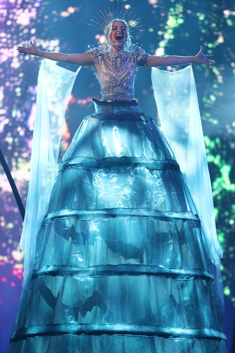 Kate Miller-Heidke performs during Eurovision - Australia Decides at Gold Coast Convention and Exhibition Centre on February 09, 2019 in Gold Coast, Australia. (Photo: Chris Hyde via Getty Images)