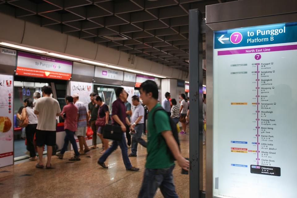 NEL hit by train fault at Clarke Quay on Thursday evening