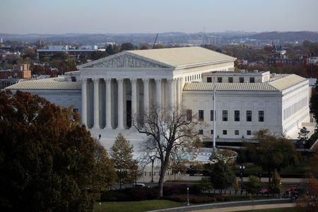 A general view of the U.S. Supreme Court building in Washington