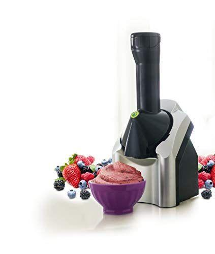 """<p><strong>Yonanas</strong></p><p>amazon.com</p><p><strong>$45.99</strong></p><p><a href=""""https://www.amazon.com/dp/B005083ECS?tag=syn-yahoo-20&ascsubtag=%5Bartid%7C2140.g.19983997%5Bsrc%7Cyahoo-us"""" rel=""""nofollow noopener"""" target=""""_blank"""" data-ylk=""""slk:Shop Now"""" class=""""link rapid-noclick-resp"""">Shop Now</a></p><p>Fact: Everything is <em>way</em> better when it it's made from scratch, including frozen yogurt. So reroute those monthly (or more—no judgement!) fro-yo dates to your BFF's place by giving them the gift of DIY delights. This soft-serve machine instantly churns <a href=""""https://www.womenshealthmag.com/food/a20901681/how-to-freeze-fruit-vegetables/"""" rel=""""nofollow noopener"""" target=""""_blank"""" data-ylk=""""slk:frozen fruits"""" class=""""link rapid-noclick-resp"""">frozen fruits</a> to create lower-sugar, lower-fat, preservative-free creations.</p>"""
