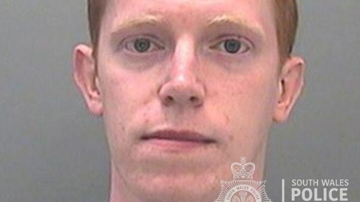 Jamie Hopes has been jailed for four years and will remain on the sex offender's register. (South Wales Police)