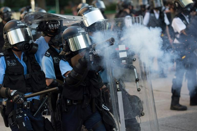 Over the last two weeks both police and protesters have resorted to increasingly confrontational tactics, plunging the city into a crisis
