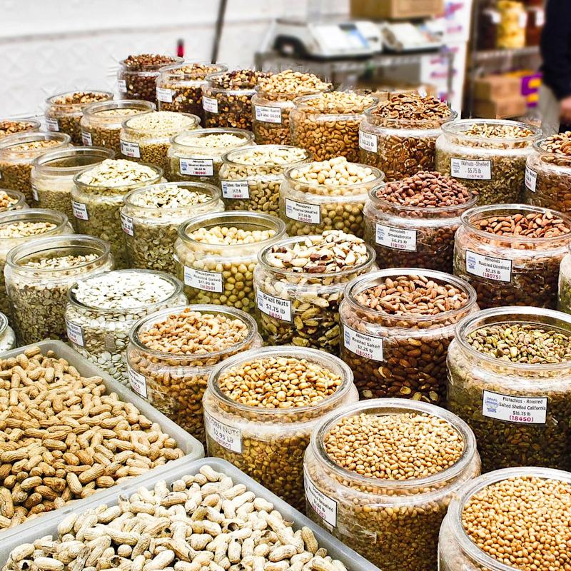 All the nuts and dried goods you could want, at Sahadi's.