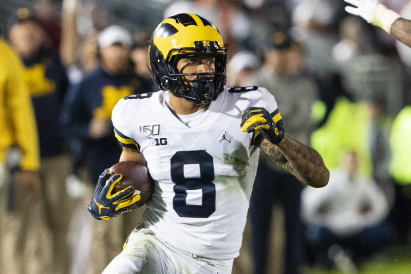 Michigan Wolverines wide receiver Ronnie Bell.