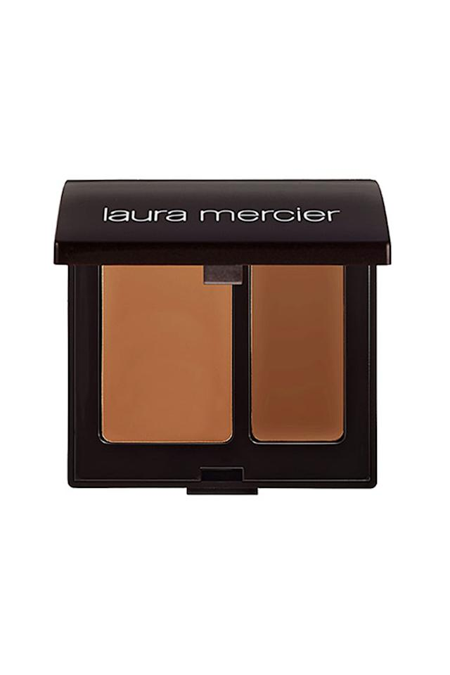 """<p>This all-time pro fave letsyou color match to your skin by mixing the dual-shade concealer. It's called camouflage because it can disguise seriously dark circles and bright red blemishes without piling it on.</p><p><em>$35, </em><a rel=""""nofollow"""" href=""""https://www.lauramercier.com/cover-with-concealer/secret-camouflage-prod220004.html""""><em>lauramercier.com</em></a></p>"""