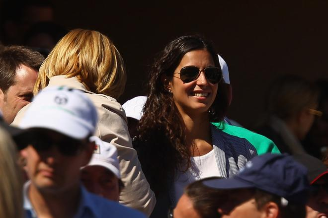 MONTE-CARLO, MONACO - APRIL 22:  Rafael Nadal's girlfriend Maria Francisca Perello, 'Xisca' and mother Ana Maria Parera, after his straight sets victory against Novak Djokovic of Serbia in the final  during day eight of the ATP Monte Carlo Masters, at Monte-Carlo Sporting Club on April 22, 2012 in Monte-Carlo, Monaco..  (Photo by Clive Brunskill/Getty Images)