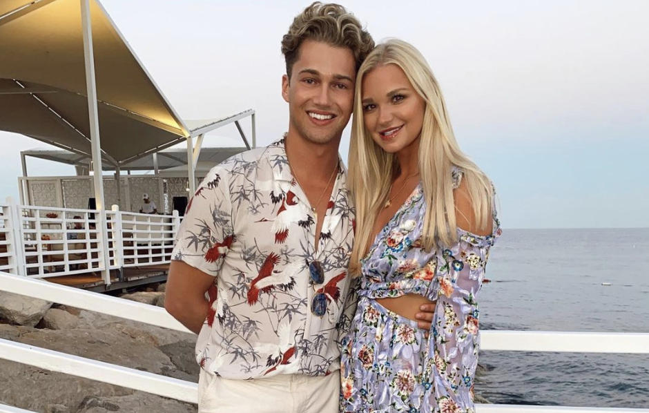 AJ Pritchard, 26, and Abbie Quinnen, 23, are pictured.