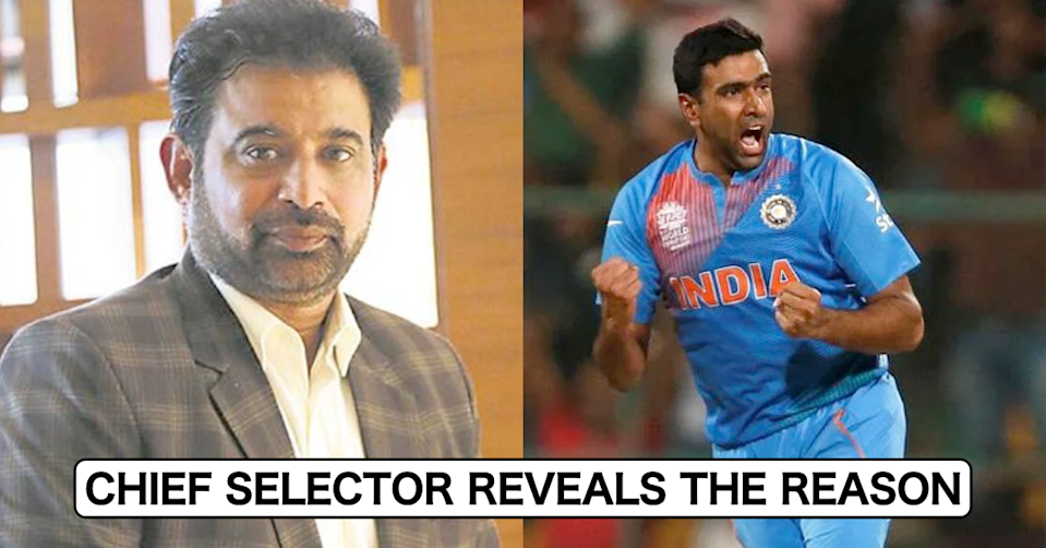 Chief Selector Chetan Sharma Reveals Why Ravichandran Ashwin Is Included In India Squad