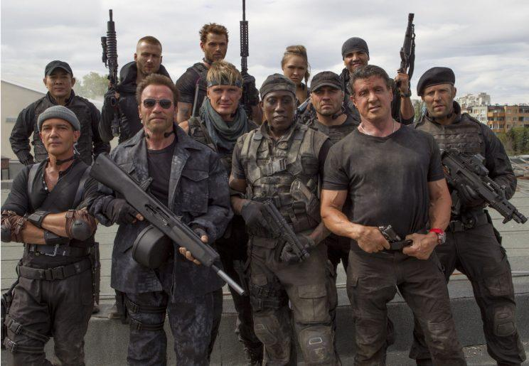 Expendables... fourth movie appears to have been confirmed - Credit: Millennium Films/Lionsgate