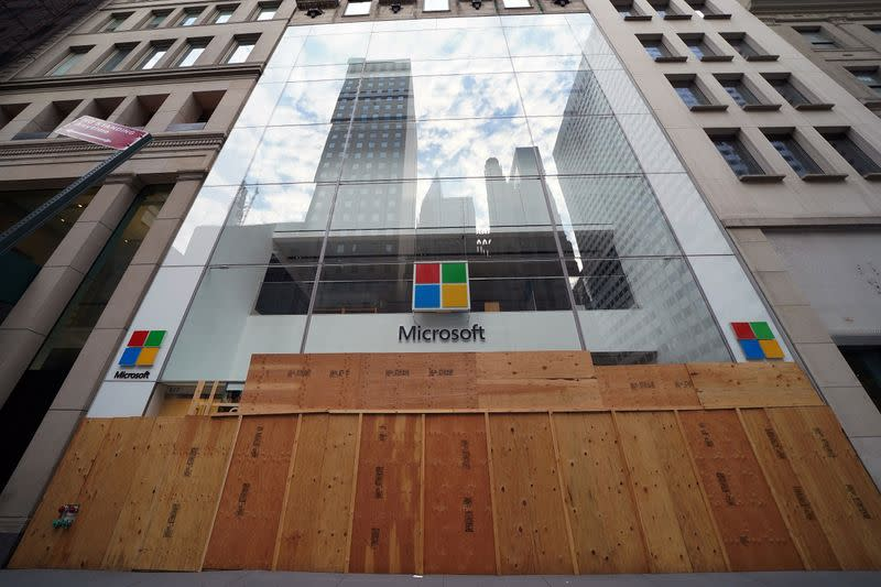 Microsoft records a 13% year over year growth in Q4 revenue