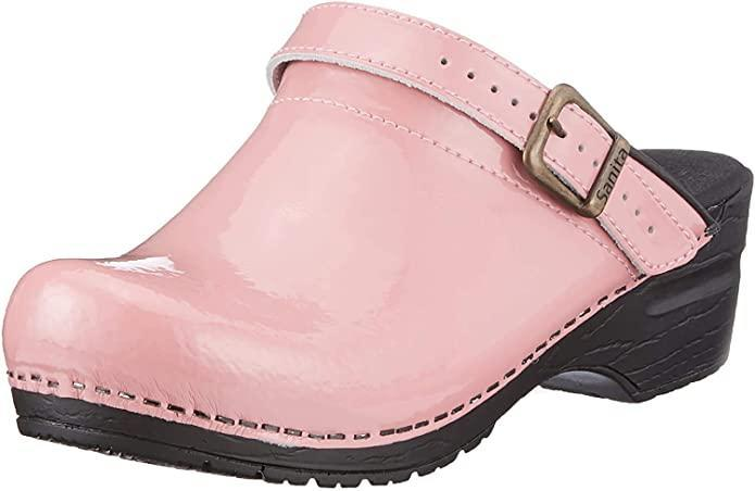 "<h2>Sanita Estelle Clog<br></h2><br>A shiny Pepto pink slip-on from heritage Danish clog-maker Sanita will definitely banish winter blues. <br><br><strong>Sanita</strong> Estelle Clog, $, available at <a href=""https://www.amazon.com/dp/B01MU67W2D"" rel=""nofollow noopener"" target=""_blank"" data-ylk=""slk:Amazon"" class=""link rapid-noclick-resp"">Amazon</a>"