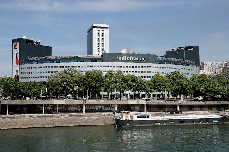 Radio France employees are striking in protest over plans to cut some 300 jobs