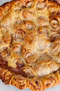 """<p>This apple masterpiece may take more time than you're average pie. But it's worth it. Here, we used our <a href=""""https://www.delish.com/uk/cooking/recipes/a32929802/basic-pie-dough-recipe/"""" rel=""""nofollow noopener"""" target=""""_blank"""" data-ylk=""""slk:perfect pie crust"""" class=""""link rapid-noclick-resp"""">perfect pie crust</a> recipe, but if you want to skip this step, feel free to start with the store-bought dough. </p><p>Get the <a href=""""http://www.delish.com/uk/cooking/recipes/a33214214/cinnamon-roll-apple-pie-recipe/"""" rel=""""nofollow noopener"""" target=""""_blank"""" data-ylk=""""slk:Cinnamon Roll Apple Pie"""" class=""""link rapid-noclick-resp"""">Cinnamon Roll Apple Pie</a> recipe.</p>"""