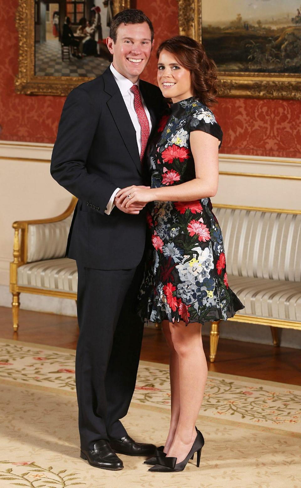 "<p>Jack proposed to Princess Eugenie during a January 2018 vacation to Nicaragua.</p> <p>""The lake was so beautiful. The light was just a special light I had never seen,"" the royal said. ""I actually said, 'This is an incredible moment,' and then he popped the question, which was really surprising even though we have been together seven years. I was over the moon.""</p>"
