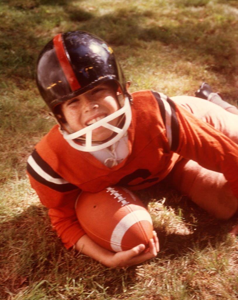 <p>By 1970, every little boy was signing up for a Pee-Wee team, in the hopes of becoming the next Joe Montana. </p>