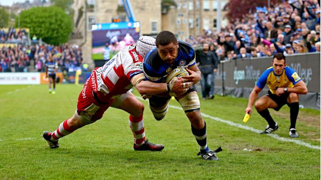 Bath triumphed 44-20 over Gloucester in the Premiership on Sunday, booking a place in next season's Champions Cup.