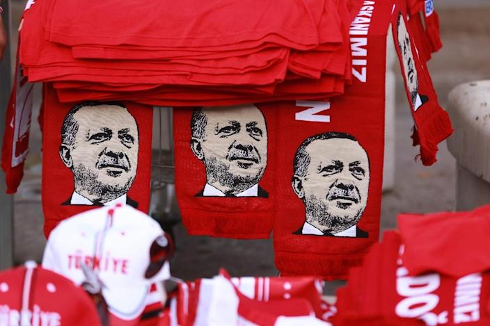 President Recep Tayyip Erdogan and his government have launched a major crackdown following the failed coup of July 15 (AFP Photo/Adem Altan)
