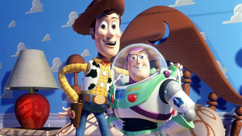 "A scene from Walt Disney Pictures' ""Toy Story."""