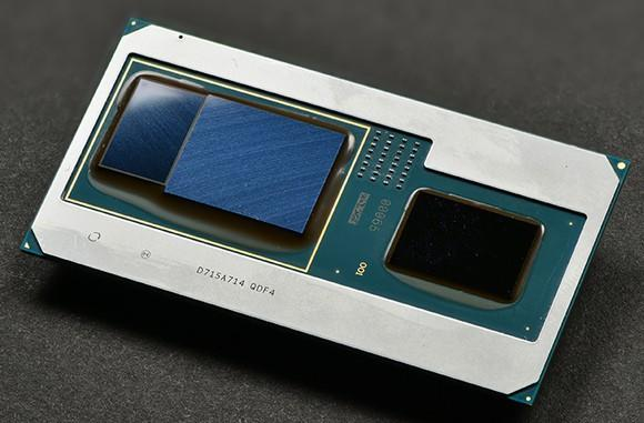A chip that combines Intel's processor tech with AMD's graphics tech.