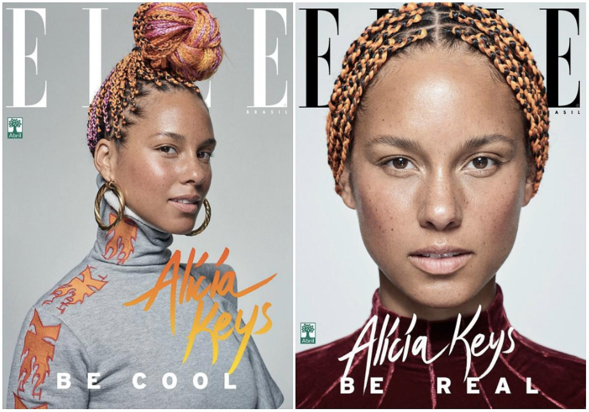 """<p><strong>When: August 31, 2017</strong><br />Alicia Keys has been a huge proponent of the no-makeup revolution, and most recently the 35-year-old fresh-faced beauty posed for four different covers of <em>Elle Brasil</em> — and apart from adorning her gorgeous skin with moisturizing cream and pink blush, Keys was makeup-free!<br />""""Me choosing to be makeup-free doesn't mean I'm anti-makeup. Do you!"""" she said in a previous <a rel=""""nofollow"""" href=""""https://twitter.com/aliciakeys/status/770327503495958528?ref_src=twsrc%5Etfw&ref_url=http%3A%2F%2Fwww.eonline.com%2Fnews%2F790899%2Falicia-keys-stopped-wearing-makeup-and-the-world-is-still-having-a-hard-time-adjusting"""">Twitter post.</a> As always, we're in love with Keys's natural beauty!<br /><em>(Photo: Instagram) </em> </p>"""