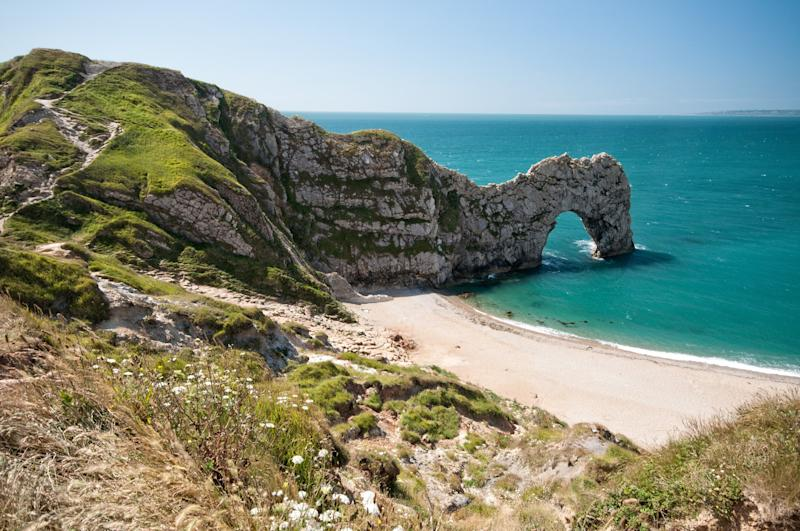 England was selected as one of the best countries to visit in 2020 (pictured here is a section of the Jurassic Coast).