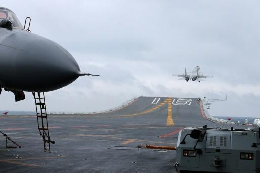 China aircraft carrier enters Strait of Taiwan