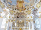 With its bright colors and exuberant frescoes, the UNESCO-listed Church of Wies is a masterpiece of Rococo architecture—with the added bonus of a scenic Alpine setting. Though it was finished in 1754, nearly one million pilgrims still travel to the site annually.