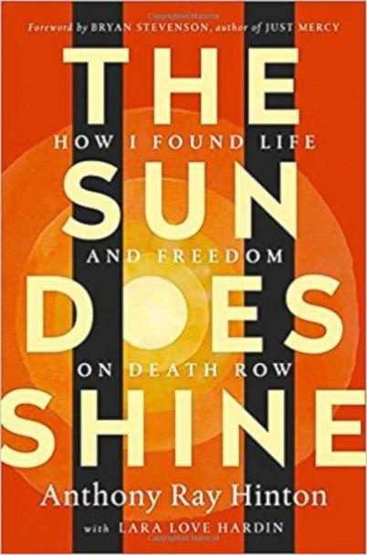 PHOTO: The cover of 'The Sun Does Shine: How I Found Life and Freedom on Death Row' by Anthony Ray Hinton. (Amazon)