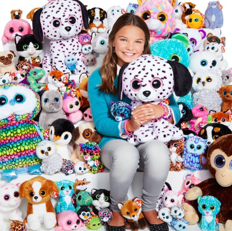 <p>There was always a new beanie baby on the wish list. Plus, grown ups told us if we kept the tags on they would make us rich one day. [Photo: Claires Stores/ Instagram] </p>