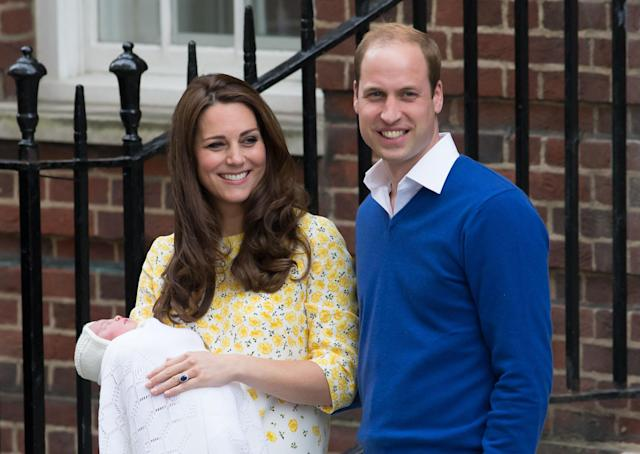 William and Kate's youngest child, Princess Charlotte, was born in 2015. (Photo: PA)