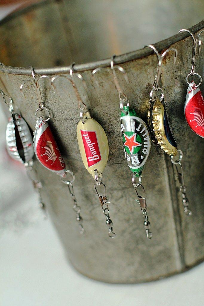 """<p>Dad will be reel-y thrilled to receive these homemade lures.</p><p><strong>Get the tutorial at <a href=""""http://www.2littlehooligans.com/2014/12/09/bottle-cap-fishing-lures-handmade-christmas-presents-for-men/"""" rel=""""nofollow noopener"""" target=""""_blank"""" data-ylk=""""slk:2 Little Hooligans"""" class=""""link rapid-noclick-resp"""">2 Little Hooligans</a>.</strong></p><p><strong><a class=""""link rapid-noclick-resp"""" href=""""https://www.amazon.com/Mustad-3551-BR-14-25-Treble-Hooks/dp/B00030A4N0?tag=syn-yahoo-20&ascsubtag=%5Bartid%7C10050.g.1171%5Bsrc%7Cyahoo-us"""" rel=""""nofollow noopener"""" target=""""_blank"""" data-ylk=""""slk:SHOP HOOKS"""">SHOP HOOKS</a><br></strong></p>"""