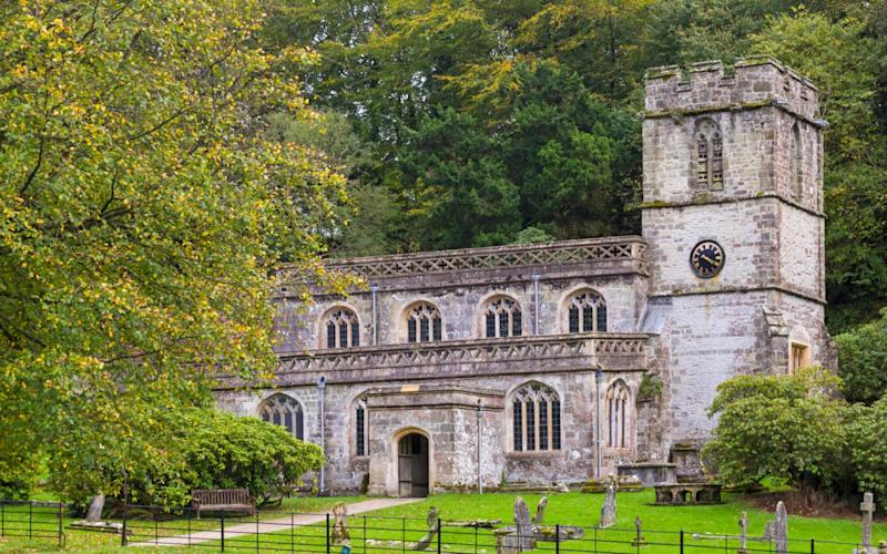 St Peter's at Stourton has now had its lead roof stolen twice - www.alamy.com