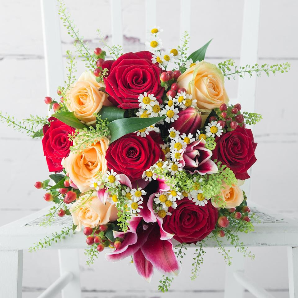 Honeycomb bouquet, from £34.99, Appleyard Flowers