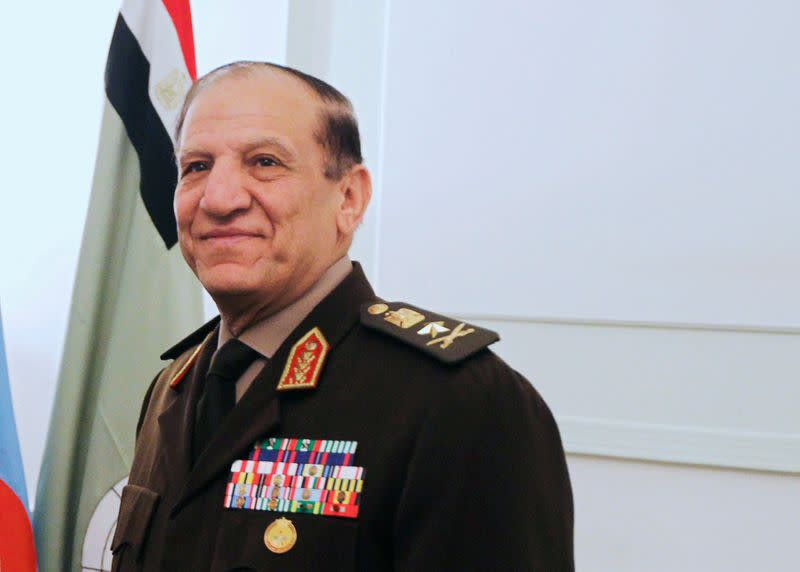 Egypt's ex-military chief-of-staff released after near two-year detention