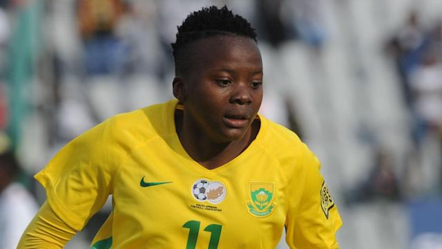 The South Africa international has finally received her paperwork and is now available for selection for the Vera Pauw coached side