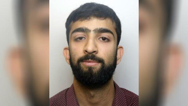 Omar Ashfaq has been jailed for four years and six months at Birmingham Crown Court after admitting 11 terrorism offences. (East Midlands Special Operations Unit)
