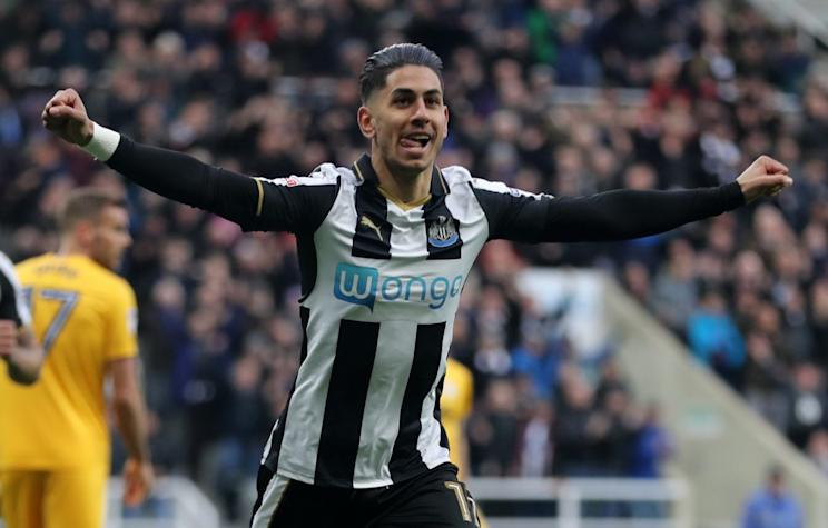 Newcastle United secured promotion back to the Premier League in style, destroying Preston 4-1 at St James' Park. A brace from Ayoze Perez, plus goals from Matt Richie and and Christian Atsu saw the north-east giants turn on the style against 10-man Preston.