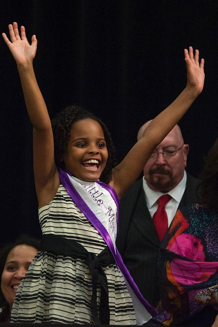 <p>Copeny, a.k.a. Little Miss Flint, captured President Obama's attention in 2016 after she wrote him a letter urging him to meet with her and her community members who were traveling to Washington D.C. for the congressional meetings on the Flint water crisis. She continues to fight for the people of her hometown in any way that she can, including crowdfunding for donations to buy backpacks for students in Flint. Mari is also a youth ambassador for the Women's March, the Climate March, and Equality for Her. </p>