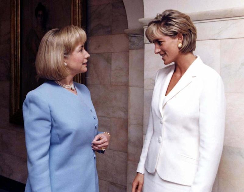 Princess Diana, Hillary clinton