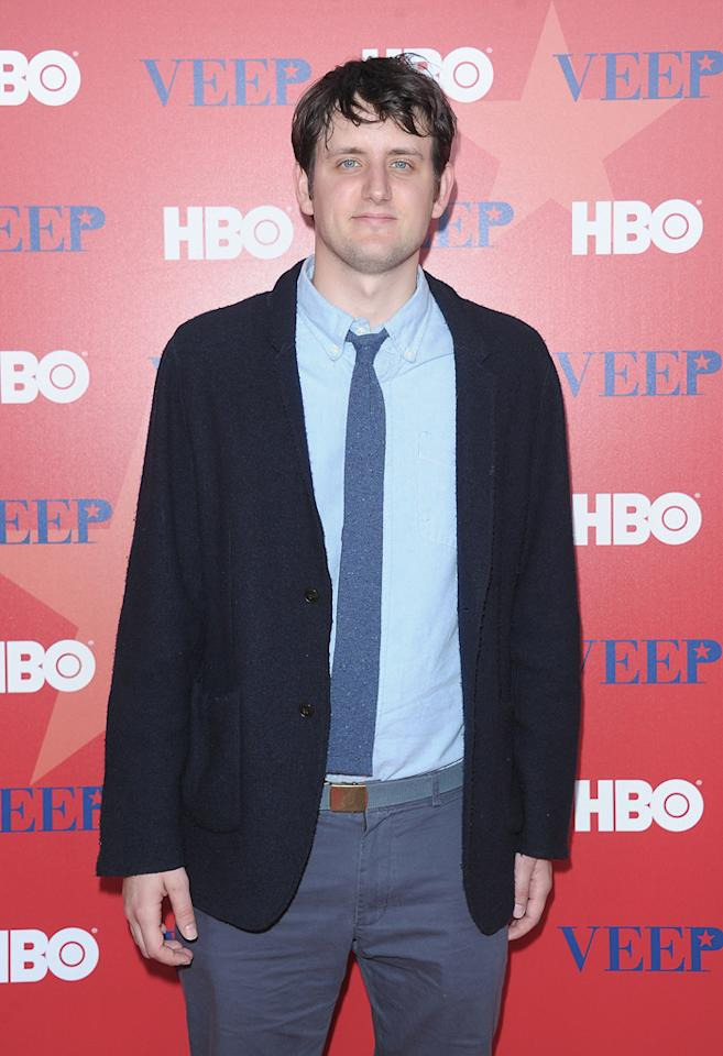 "Zach Woods attends HBO's screening of ""<a href=""http://tv.yahoo.com/veep/show/47343"">Veep</a>"" on April 10, 2012 in New York City."