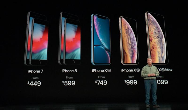 IPhone XR Revealed At Apple Event