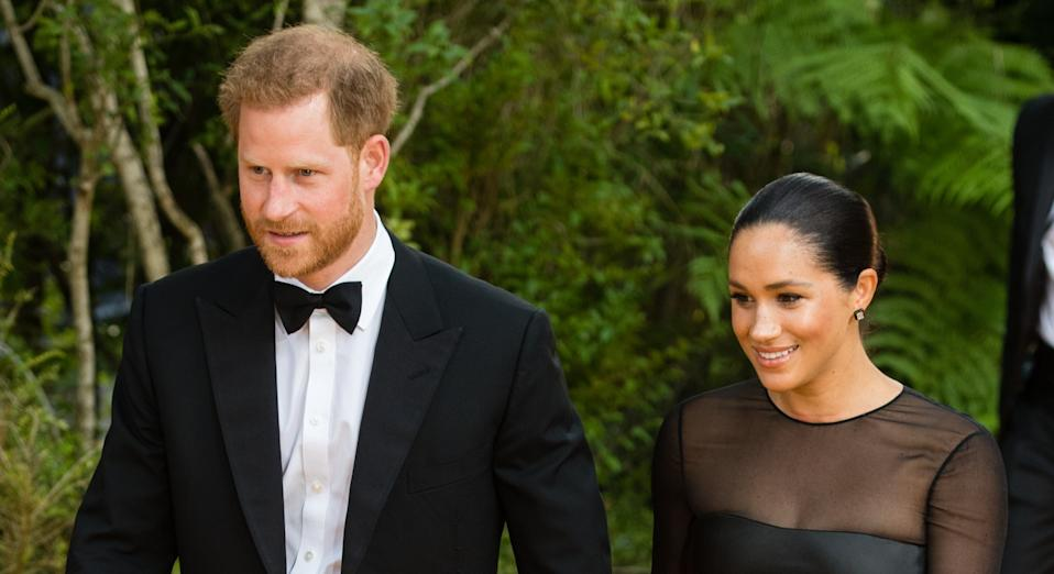 Meghan Markle and Prince Harry have been criticised by their Windsor neighbours for bizarre rules [Image: Getty]
