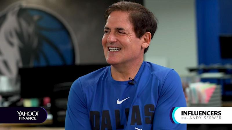 Mark Cuban appears on Influencers with Andy Serwer