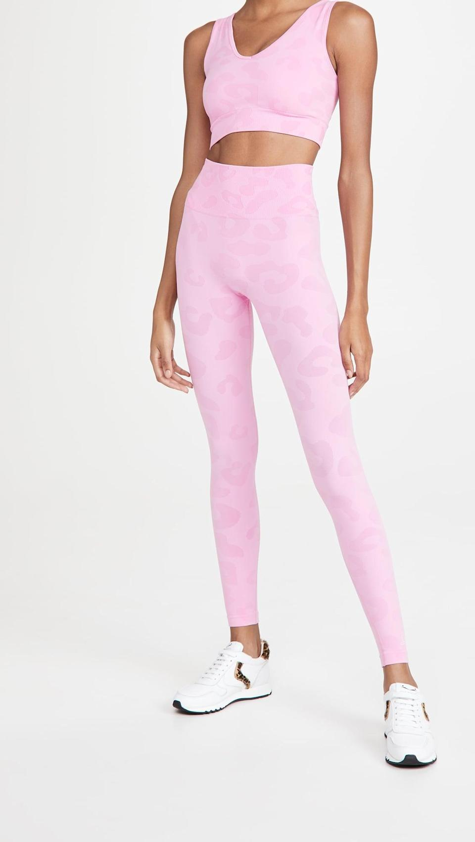 <p>Think pink in these <span>Phat Buddha The Gracie Leggings</span> ($100).</p>