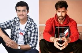 Absolute doppelgangers: Dada wants Hrithik to play him in his biopic