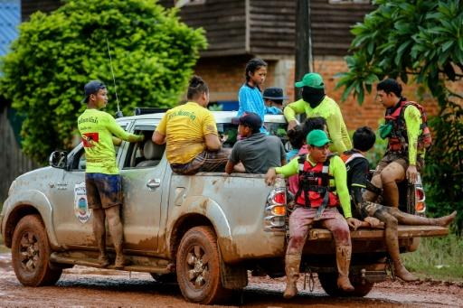 Laos troops search for survivors after dam burst