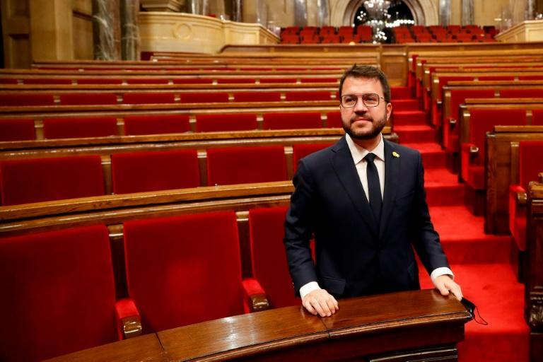 Newly elected regional Catalan president Pere Aragones is one of the staunchest defenders of dialogue with Spain's central government
